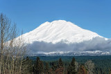 Mt. Adams, Washington, Jan 2007, and Nov 2020