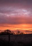 Sunrise on Christmas morning.