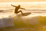 Surfing in the Golden Hour