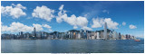 Clear Sky in Victoria Harbour on 20 Jun 2020