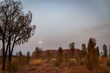 DSC_7401  Uluru sunrise wiith moon