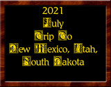 2021 Trip Out West