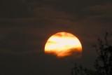 Sunset smoke wildfire