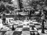 Outdoor Chess Players