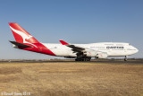 Boeing 747 VH-OJU Last Flight
