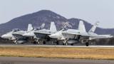 3 x F/A-18 Hornets