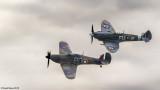 Hurricane & Spitfire Formation Flight