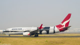 Qantas Boeing 737-800 with Indigenous Art Livery
