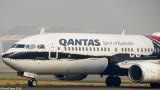 Qantas Boeing 737-800 in Indigenous Art Livery