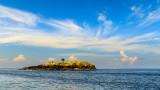 Island between Bali and Lombok