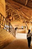 Resort Lobby with Bamboo Interior