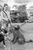 Shaggy Dog and Walker