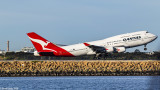 QANTAS QF7474 Final Departure from Kingsford Smith Airport