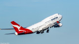 QANTAS QF7474 Departure from Kingsford Smith Airport