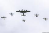 RAF Centenary Royal Review - Battle of Britain Memorial Flight