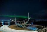 Polarlichter an der Sólfar