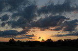 Sunset,  Northeast Nebraska, June, 2019