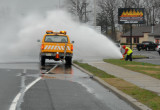 flooding a roadway