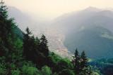 Martigny in Rhone Valley