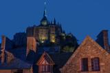 Balade nocturne au Mont Saint Michel