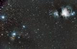 Wide field of the Orion region