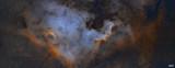 NGC7000 MOSAICO 4 Teselas