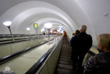 Saint Petersburg Metro station .