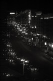 A cold Moscow night on Tverskaya Street