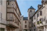 Dans le village de La Canourgue - F- Lozère