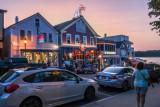 Bar Harbor at night