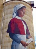 Devenish, ANZAC silo mural, detail