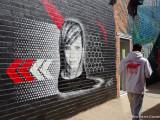 Benalla 2019 Wall to Wall Art festival, street mural