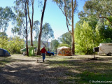 Pleasant camping spot along the King Valley