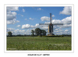 Post mills in The Netherlands