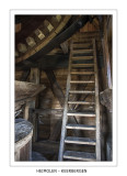 The ladder to the head of the windshaft.