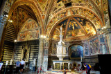 Baptistry in Siena Cathedral