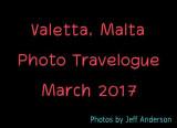 Valetta, Malta (March 2017)
