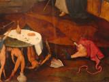 Hieronimus Bosch: Triptyque de la Tentation de saint Antoine