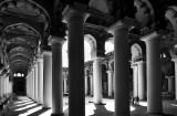 Le palais du Nayak Tirumalai IMG_7968 BW.jpg