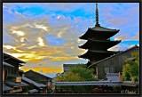 Yasaka Pagoda.