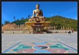 La lumière de Bouddha.