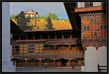 Inside Paro Dzong.