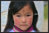 The Shy Little Girl from Jakar.