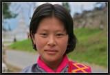 A Bhutanese Lady.
