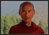 Portrait of a  Buddhist.