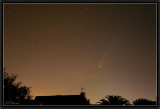 Neowise from my Window.