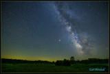 Fireflies mimic Milkyway