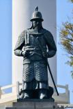 General Sunsin Lee in front of Busan Tower DSC_2564