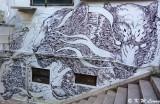 Mural @ 'La Cabane a Vin' by Kristopher Ho DSC01274