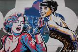 Marilyn Monroe & Audrey Hepburn  @ Madera Hollywood Hotel DSC01340